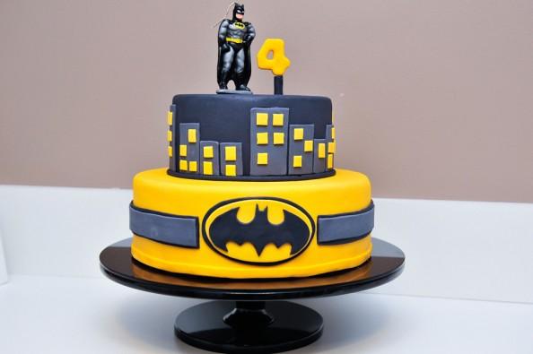 bolo do batman de aniversário