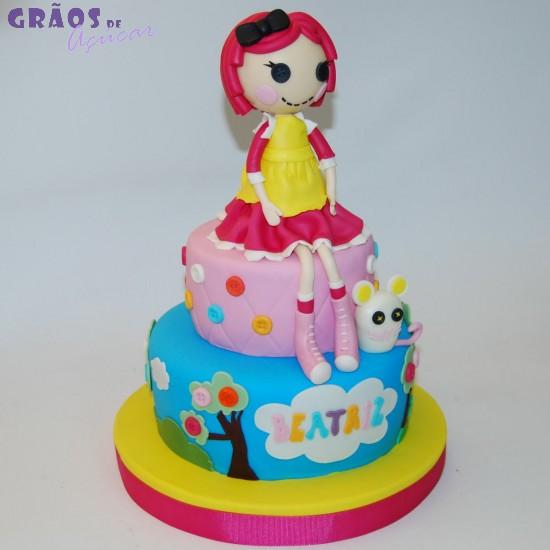 Lalaloopsy bolo de aniversário para festa de aniversário de meninas