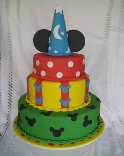 Bolo do Mickey
