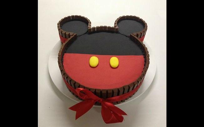 Bolo de aniversário do Mickey Mouse