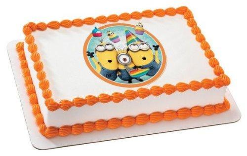 Torta de aniversário dos Minions