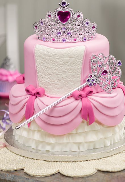 Bolo de aniversário de princesas