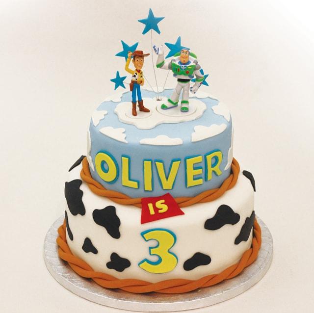bolo decorativo festa toy story