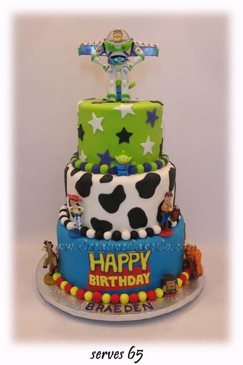 Bolo de aniversário de Toy Story