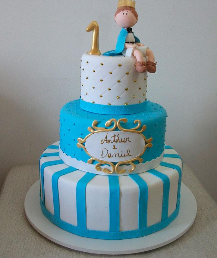 Bolo de aniversário para Festa do pequeno príncipe