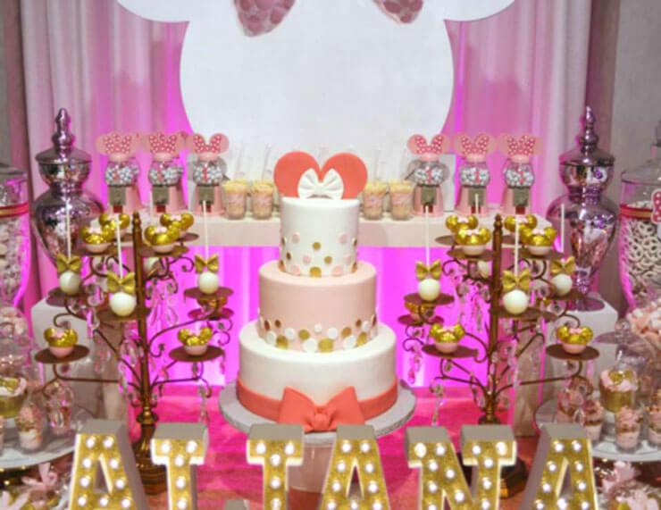 linda festa temática da Minnie