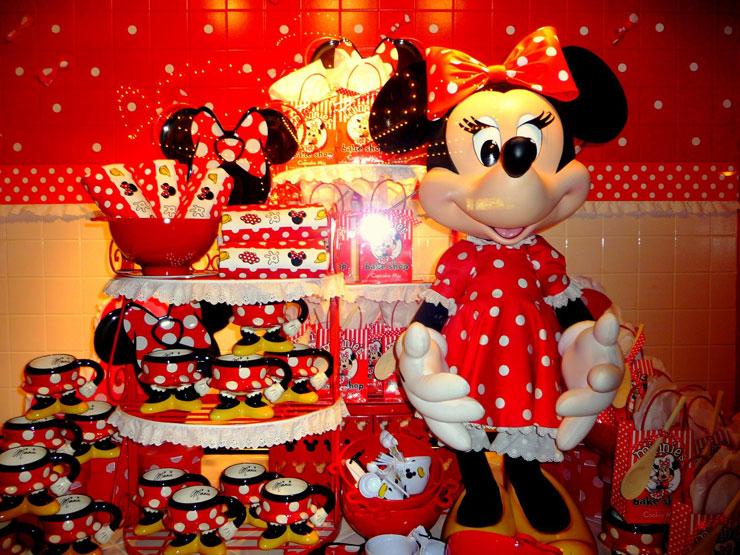 Festinha reservada com o tema da Minnie