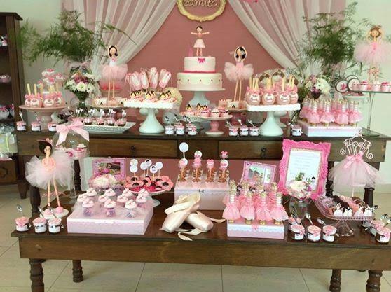 festa de aniversário infantil de Bailarina