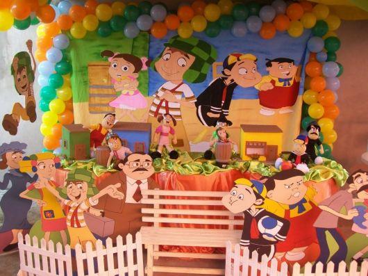 Chaves Decoração de festa infantil