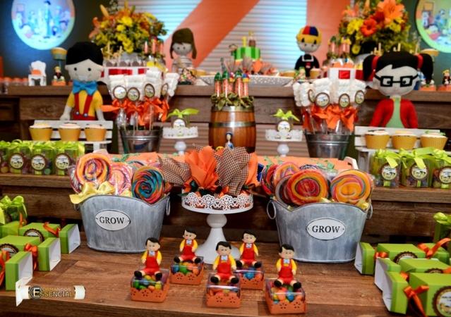 Festa Tema Chaves para decoração