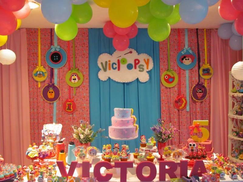 Festa decorada da Lalaloopsy
