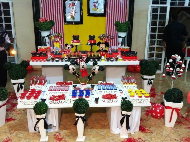 decoração de festa do mickey