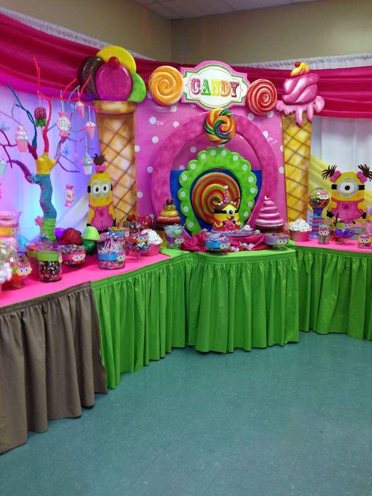 Festinha para menina dos Minions