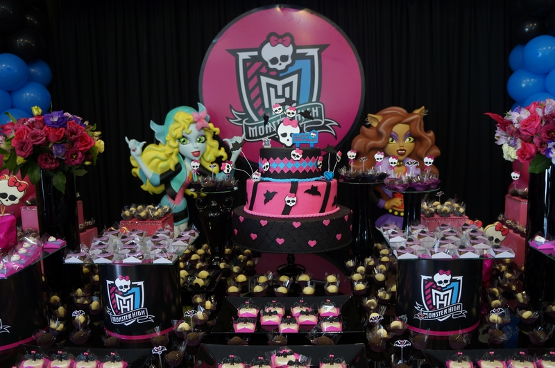 Foto de festa tema Monster High