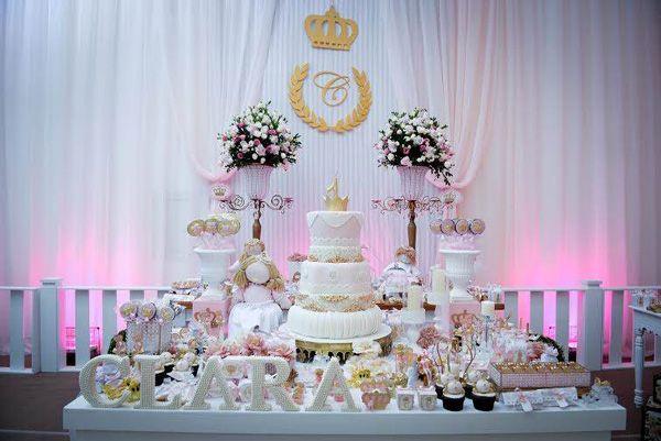 decoração de mesa de aniversário de pricnesas