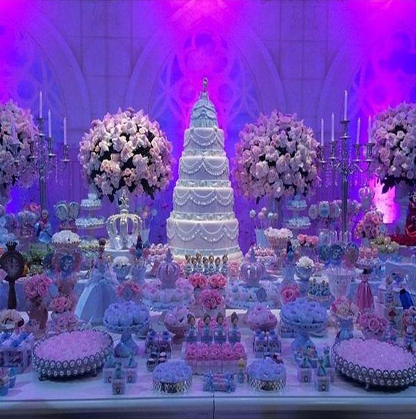 Festa de princesas com super produção
