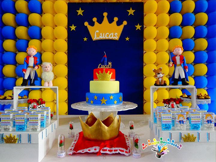 Decoração de festa de aniversário do Pequeno Príncipe