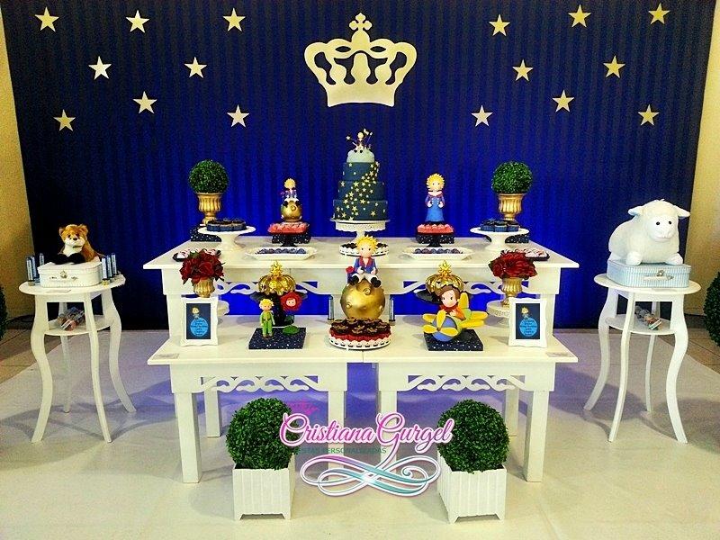 Decoração de Festa do Pequeno Príncipe estilo Provençal