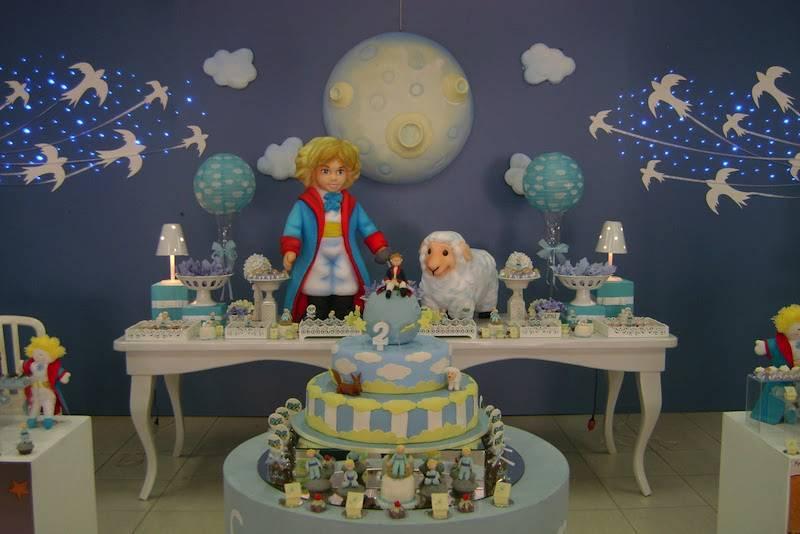 Festa Infantil decorada do Pequeno Príncipe