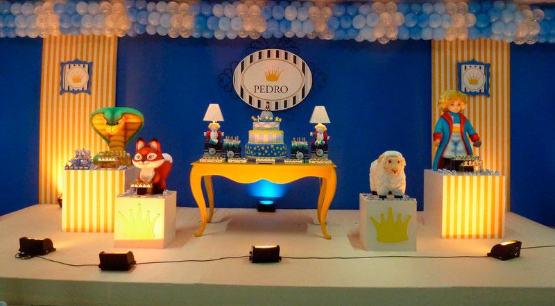 Decoração de aniversário do Pequeno príncipe