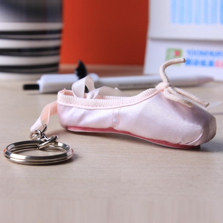Lembrancinha chaveiro sapatilha de bailarina