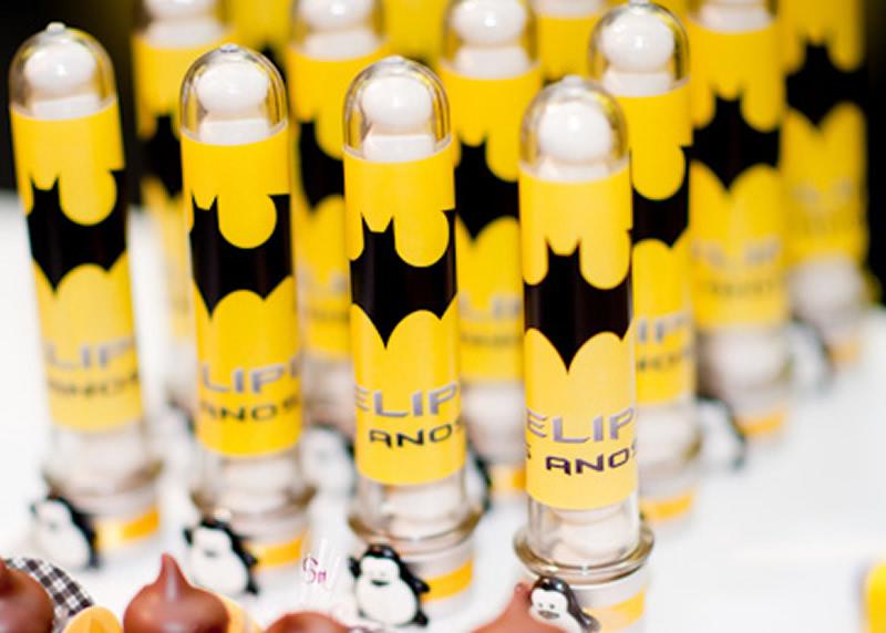 Docinhos de lembrancinha do Batman