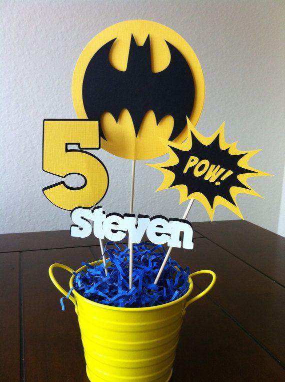 Lembrança personalizada de festa de aniversário do Batman