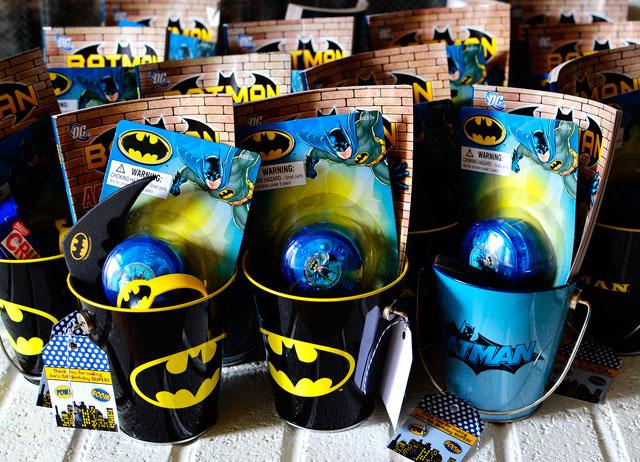 Lembrancinhas de aniversário de festa temática do Batman