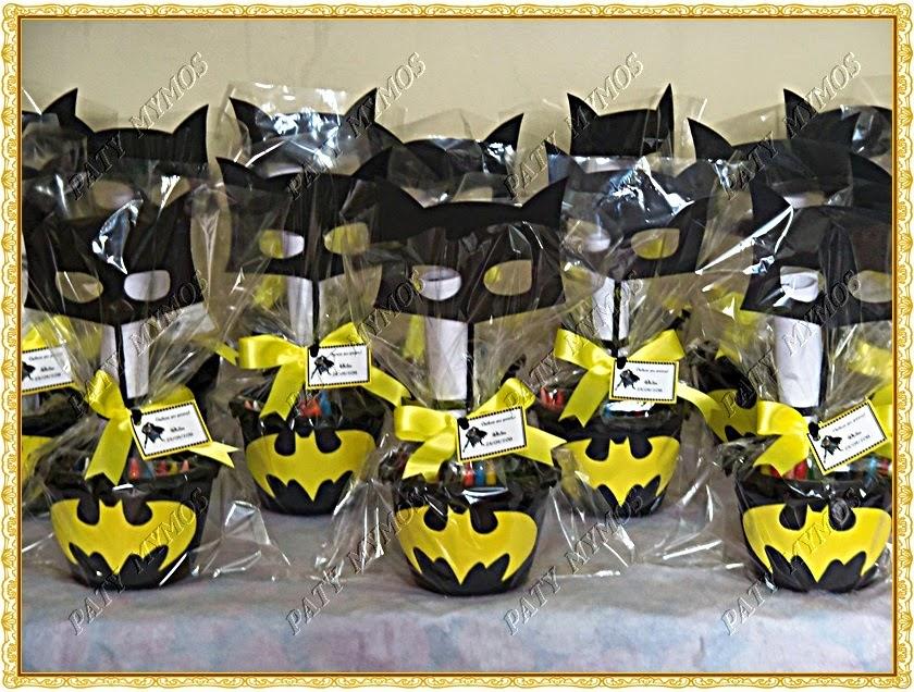 Lembrancinha de aniversário Batman para festa infantil