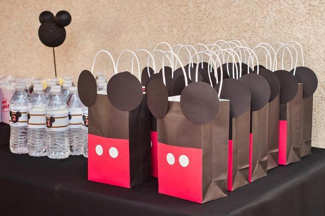sacolinhas lembrancinhas mickey Mouse