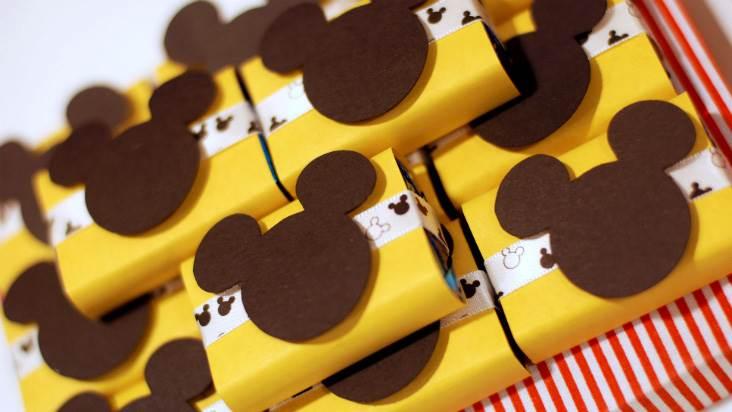 Pacotinhos lembrança Mickey Mouse
