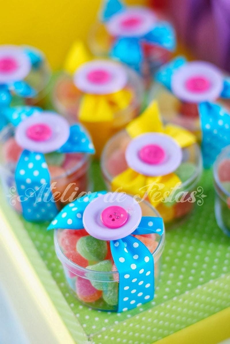balinhas de goma de lembrancinha de festa Lalaloopsy