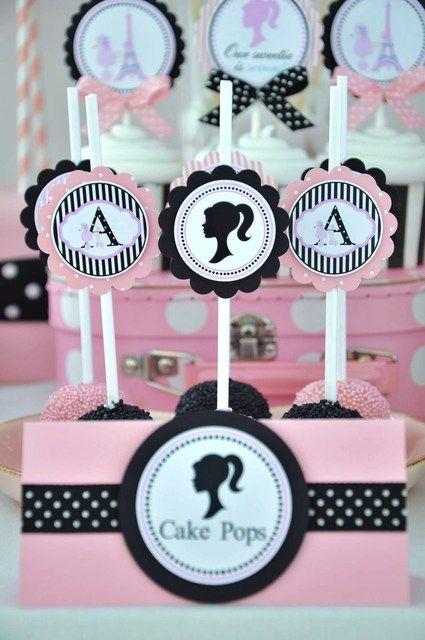 lembrancinhas da Barbie para aniversário infantil