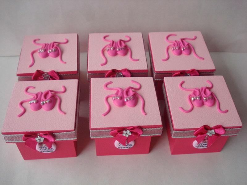 Lembrancinhas de aniversário bailarina da Barbie