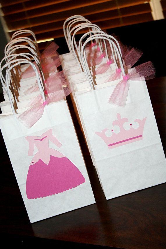 sacolinhas de aniversário de princesas