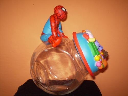 lembrancinha potinho de doces homem aranha
