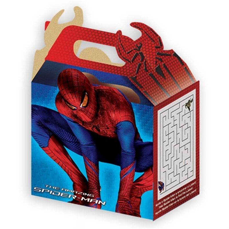 Caixinha de papel decorada Homem aranha