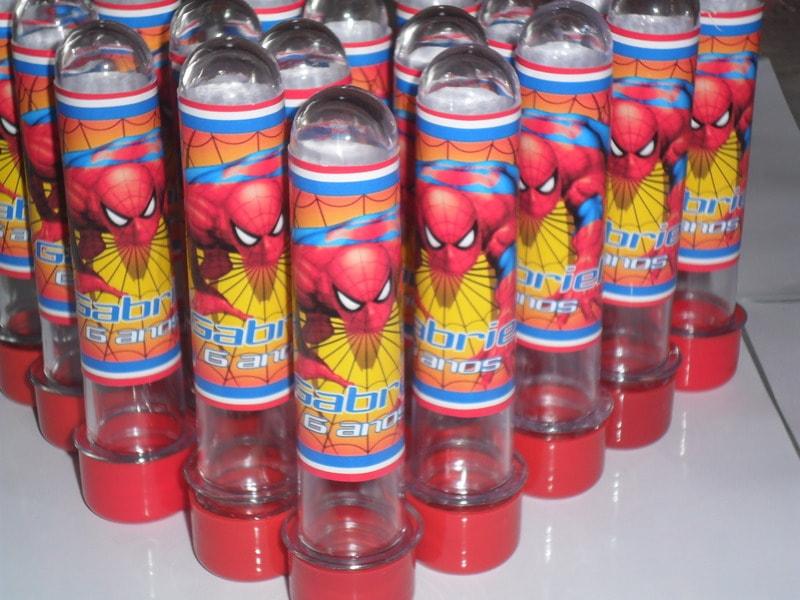 Lembrancinha de aniversário do Homem aranha