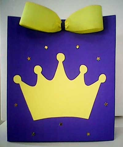 Lembrancinha sacola do Pequeno Príncipe