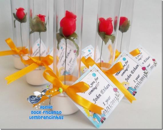 Rosa de lembrança de festa do Pequeno príncipe