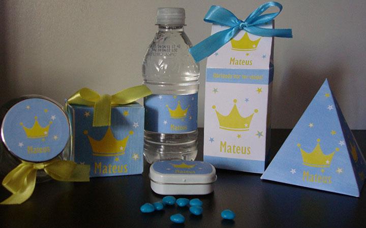 Lembrancinhas de aniversário de festa do pequeno príncipe