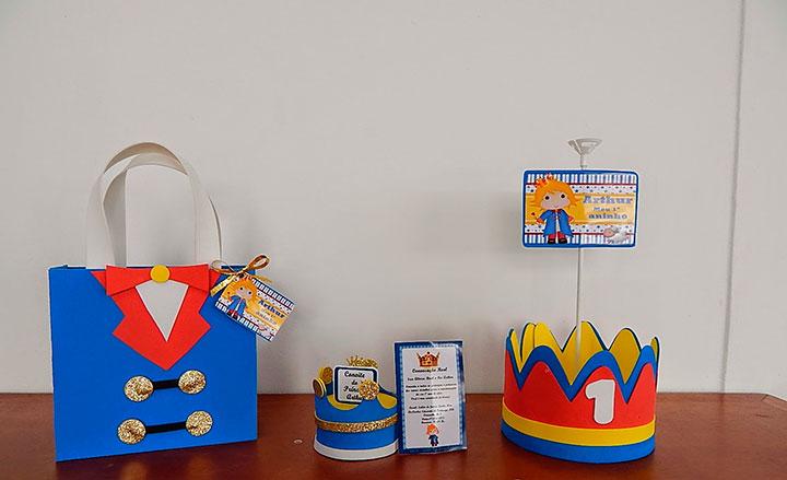 Lembrancinhas personalizadas para festa do pequeno príncipe