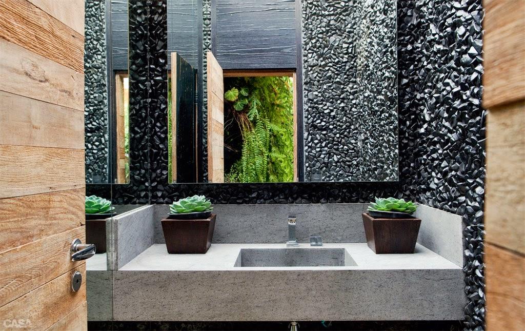 textura de aprede de banheiro de cascalho preto