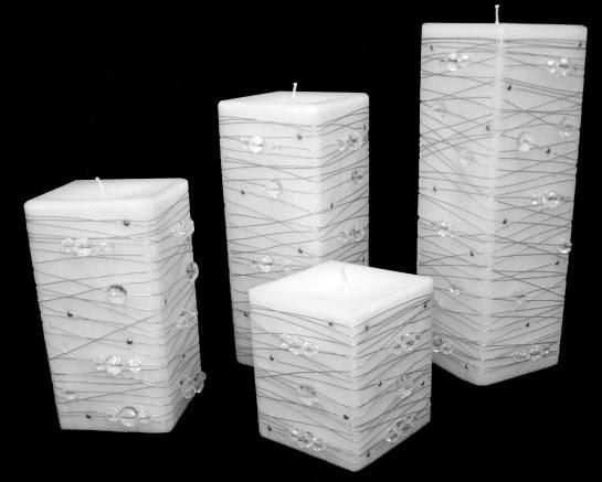 velas caseiras decorativas