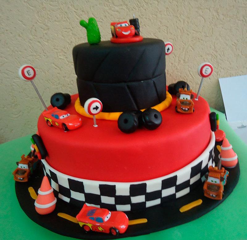 bolo infantil decorado