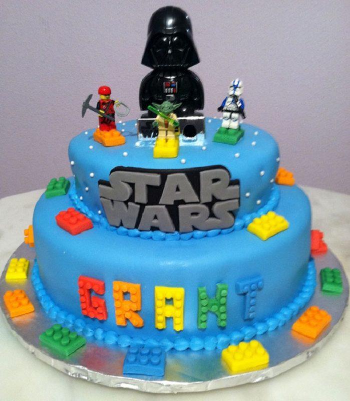 bolo para festinha de star wars