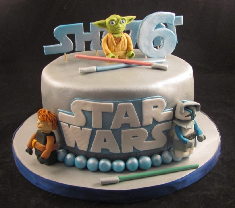 torta temática de star wars