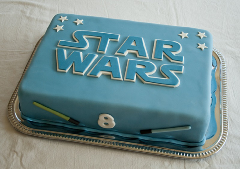 torta decorativa de star wars