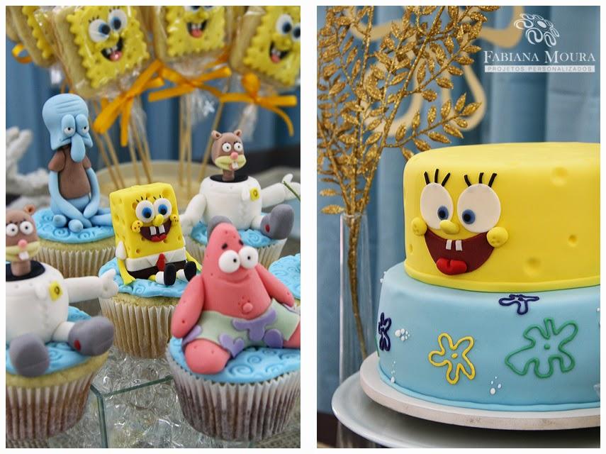 cupcakes e bolo temáticos do personagem
