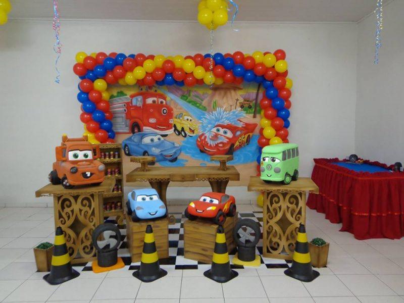 Decoração festa infantil rústica